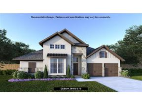 Property for sale at 925  Hornsby Holw, Leander,  Texas 78641