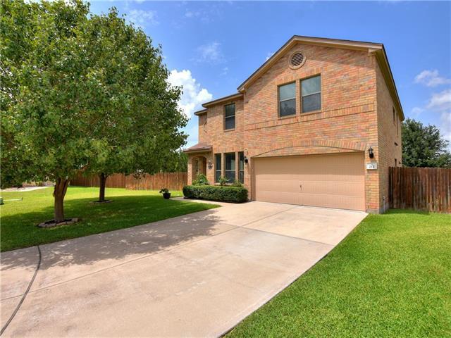 Photo of home for sale at 212 Lauren LOOP, Leander TX