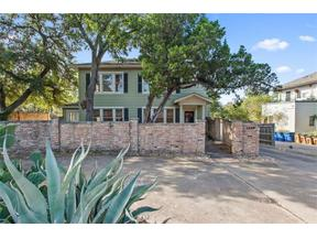Property for sale at 1509  ENFIELD Rd, Austin,  Texas 78703