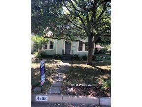 Property for sale at 4706  Ramsey Ave, Austin,  Texas 78756