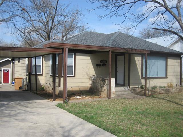 Photo of home for sale at 4704 Evans AVE, Austin TX