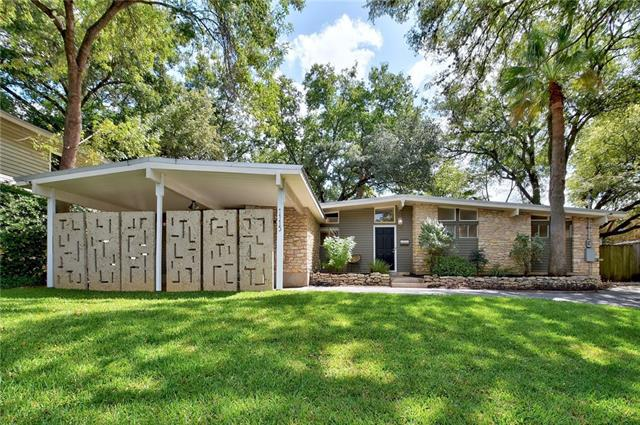 Photo of home for sale at 1115 Bluebonnet LN, Austin TX