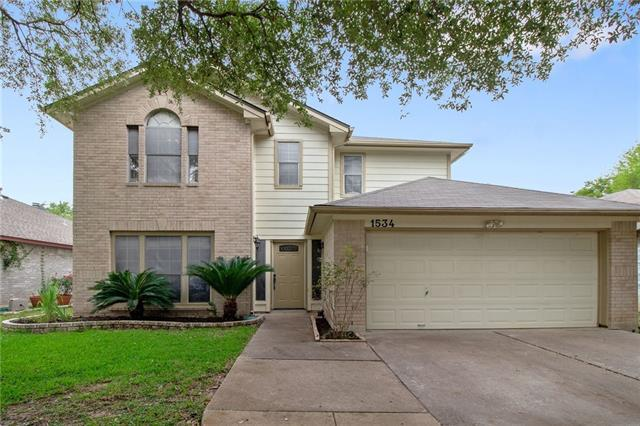 Photo of home for sale at 1534 Arusha ST, Round Rock TX
