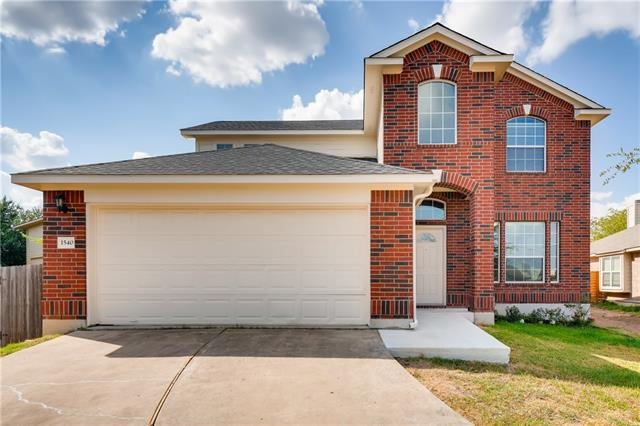 Photo of home for sale at 1540 Tonia LOOP, Round Rock TX