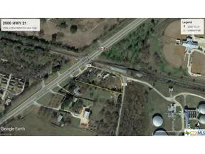 Property for sale at 2500 Highway 21, San Marcos,  Texas 78666