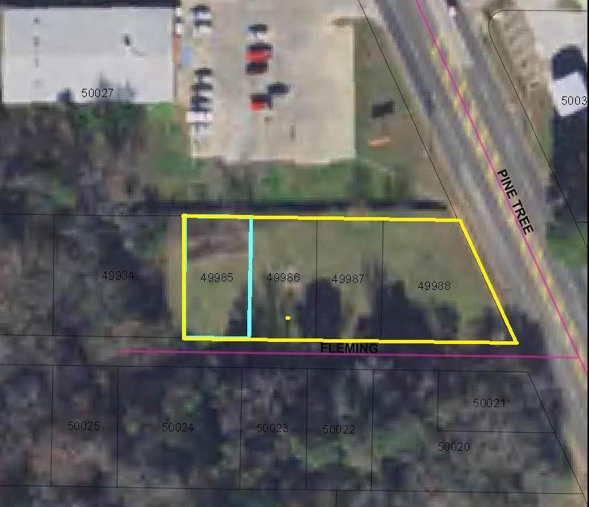 Photo of home for sale at 4 LOTS PINE TREE & FLEMING, Longview TX