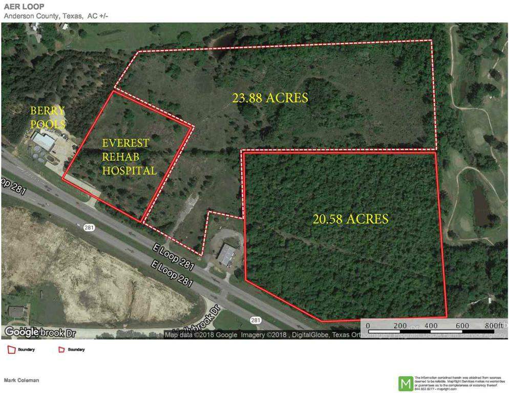 Photo of home for sale at 23.88 AC Loop 281, Longview TX