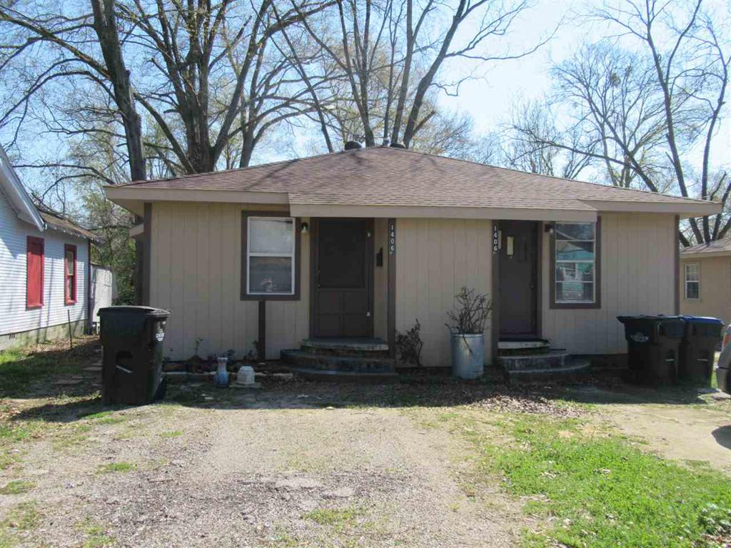 Photo of home for sale at 1404-1406 Timpson St, Longview TX