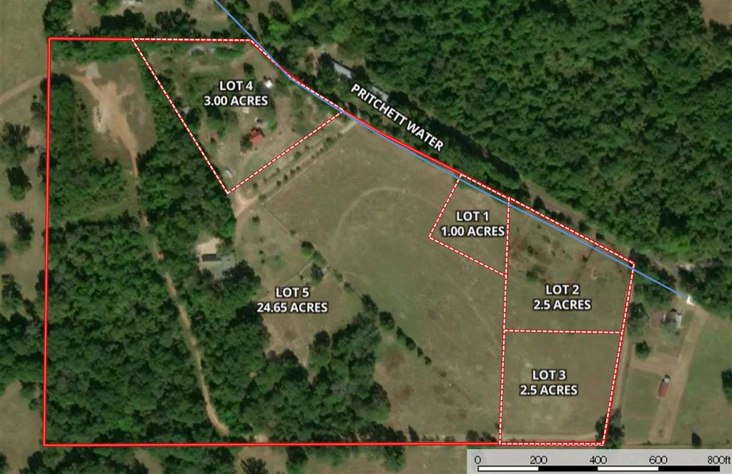 Photo of home for sale at TBD Lot 1 Bob O Link Rd, Gilmer TX