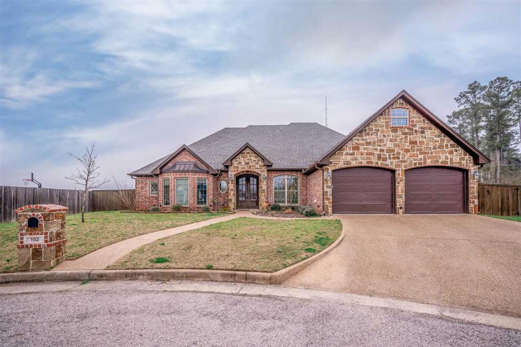 Photo of home for sale at 102 NEW BRAUNFELS, Hallsville TX