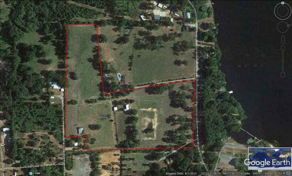 Photo of home for sale at 000 Lake Drive, Gladewater TX