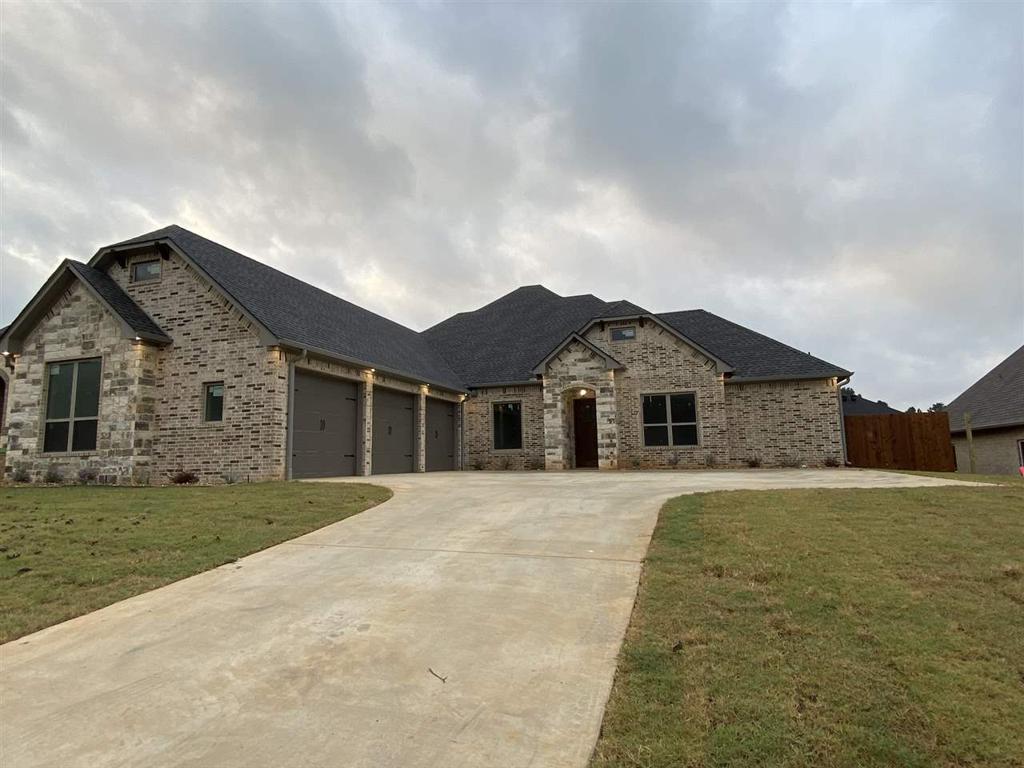 Photo of home for sale at 4008 Hidden Hills Cir, Longview TX