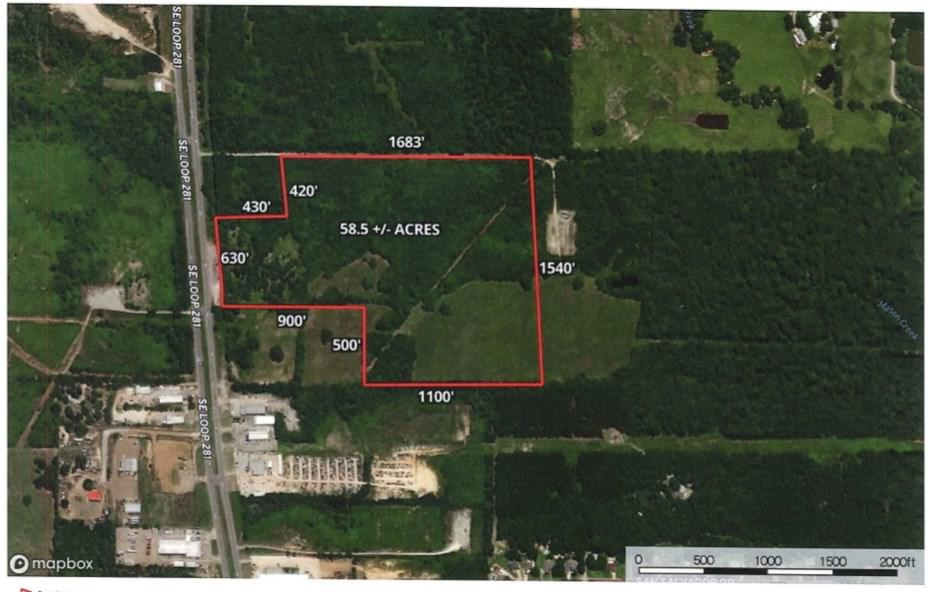 Photo of home for sale at 58.5 +/- acres Loop 281, Longview TX