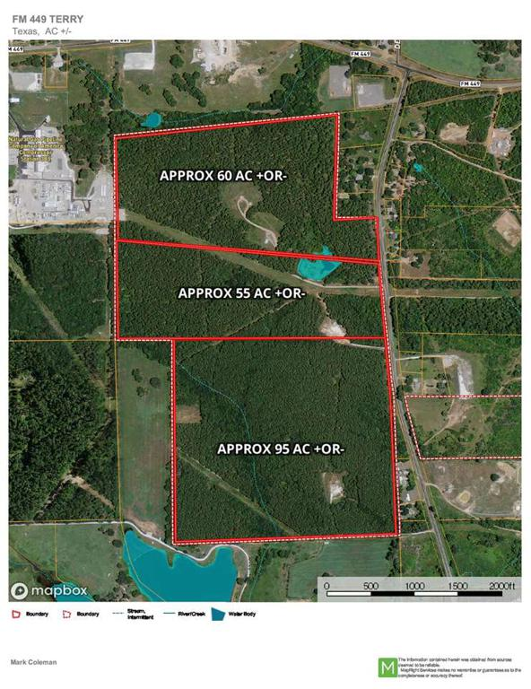 Photo of home for sale at 55 Acres FM 2208, Hallsville TX