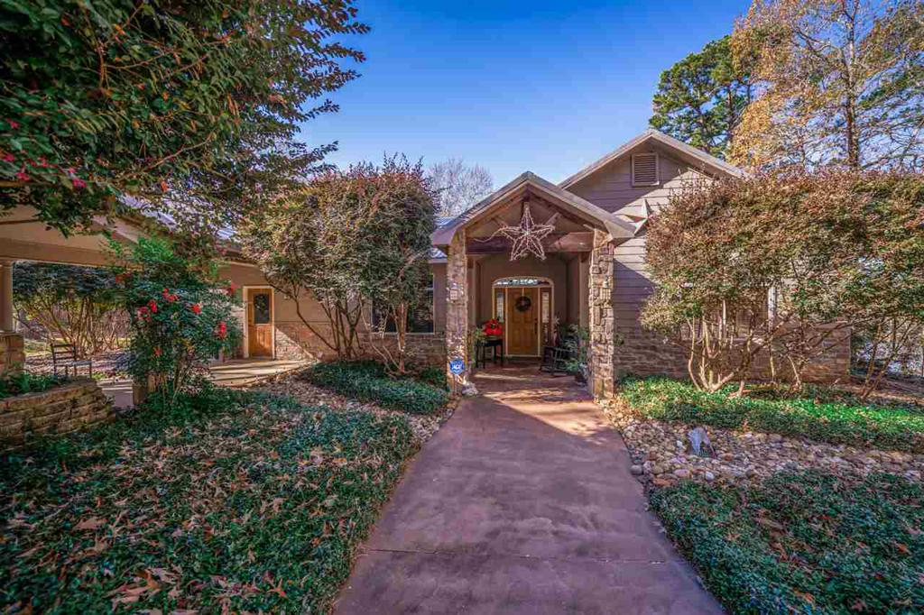 Photo of home for sale at 3047 East Lake Dr., Gladewater TX