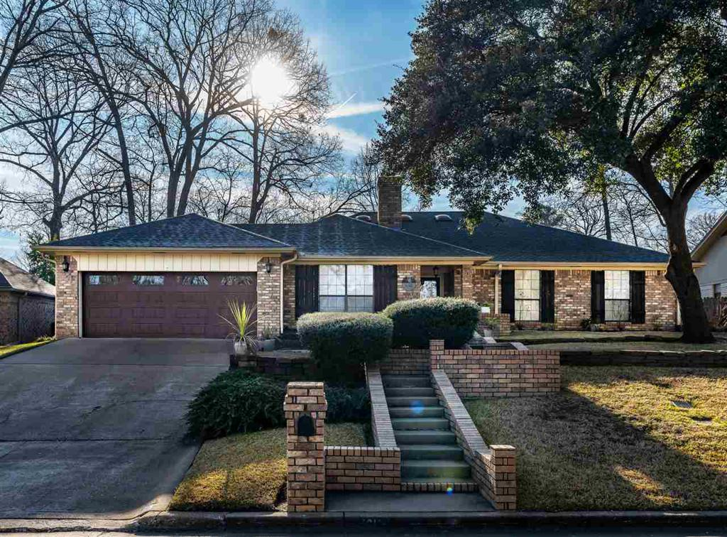 Photo of home for sale at 1212 Marigold Lane, Longview TX