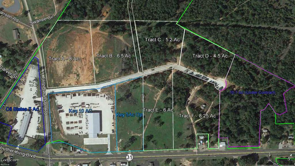 Photo of home for sale at TBD Hwy 31, Kilgore TX