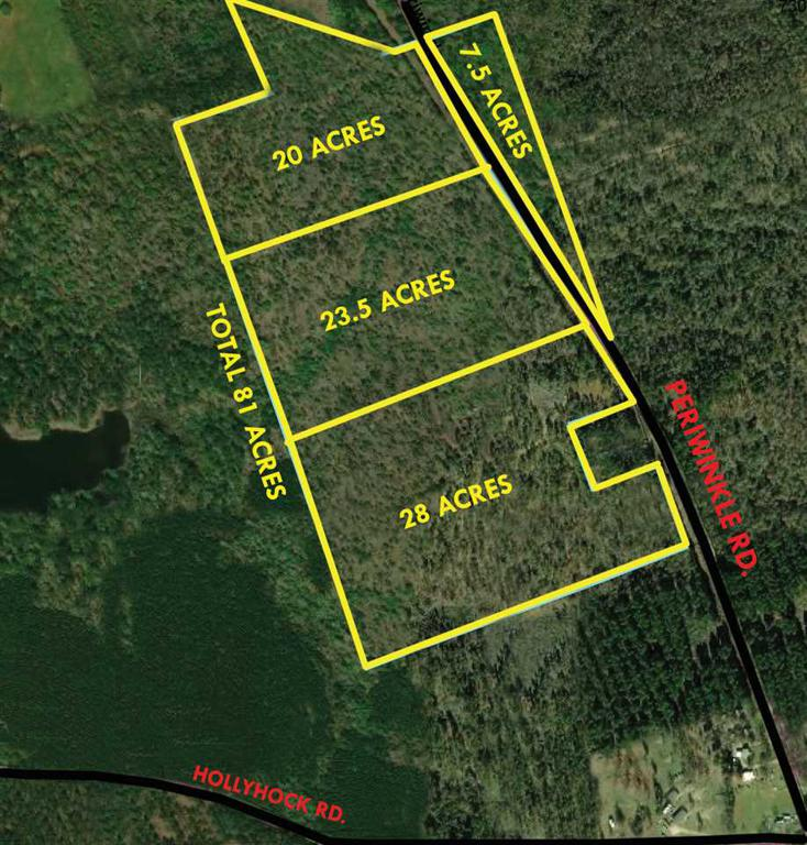 Photo of home for sale at TBD 7.5 ACRES PERIWINKLE RD., Ore City TX