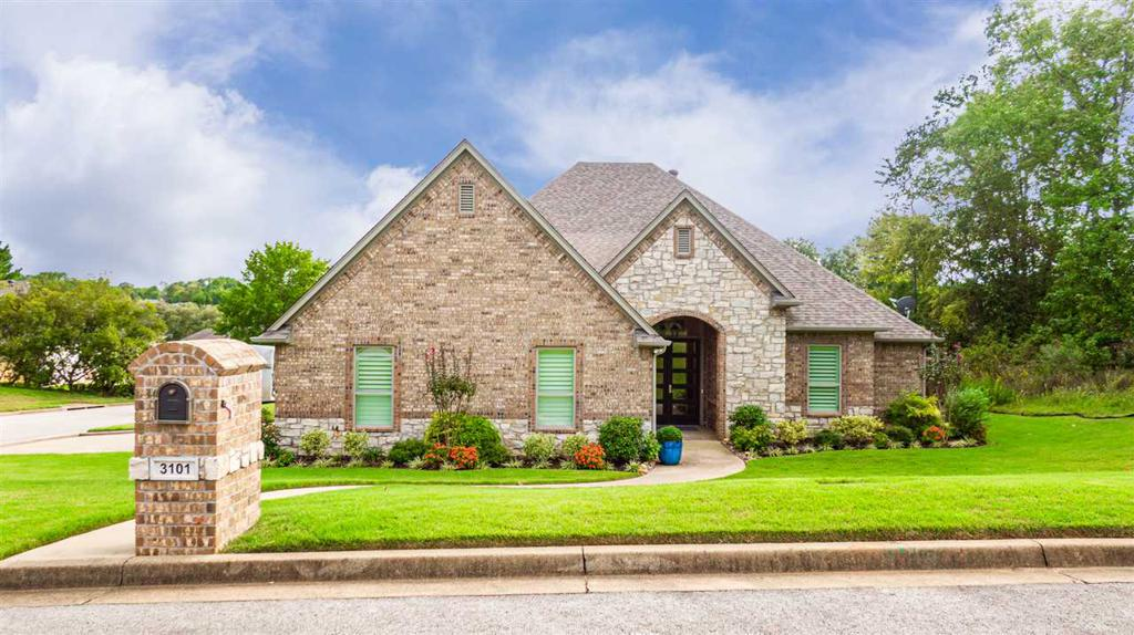 Photo of home for sale at 3101 Pinnacle Dr, Longview TX