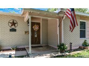 Property for sale at 2011 Arroya Vista Dr, San Antonio,  Texas 78213