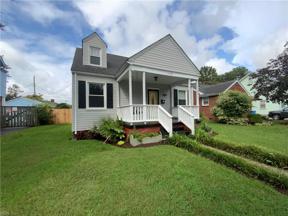 Property for sale at 1115 Wilbur Avenue, Chesapeake,  Virginia 23324